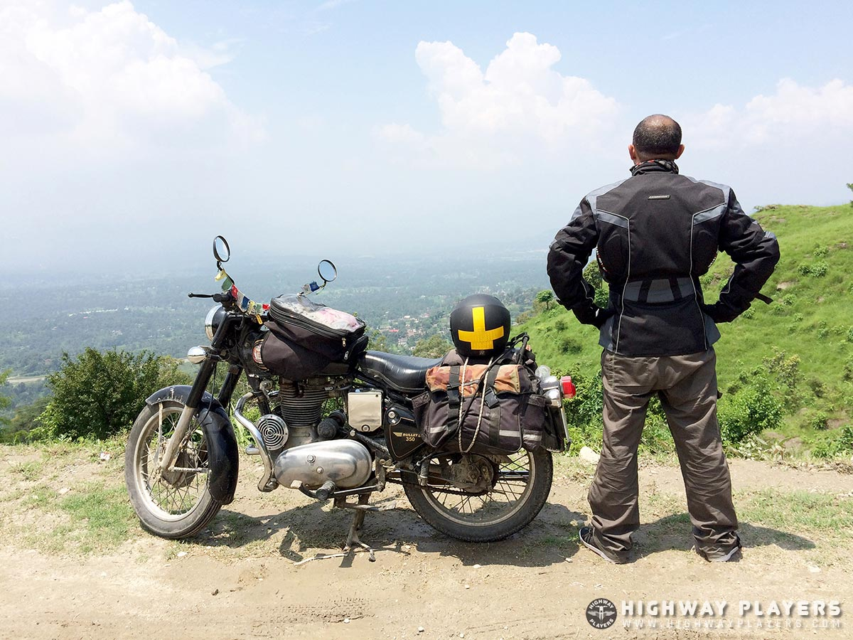 royal enfield, bullet, view