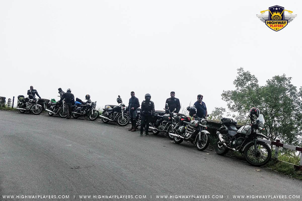 Highway Players during the ride to Sattal