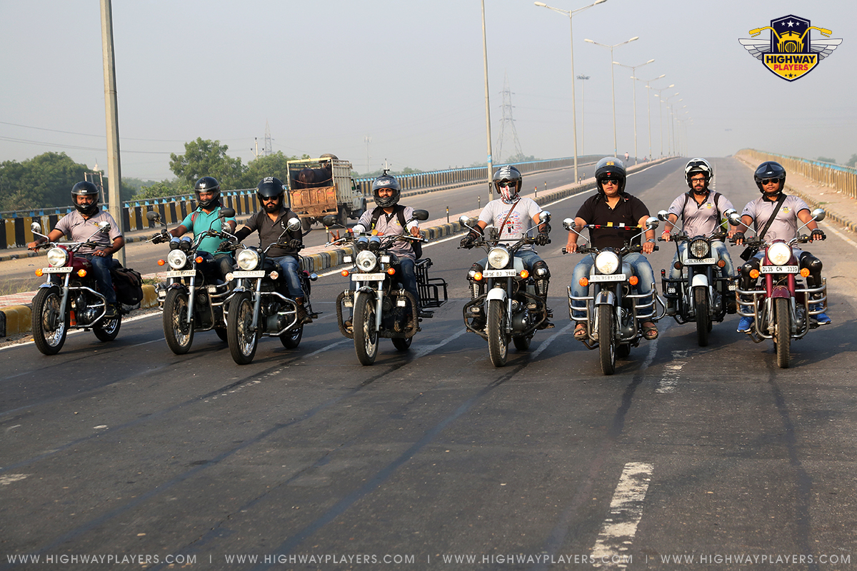 Highway Players Ride to Zhilmil Dhaba, Palwal