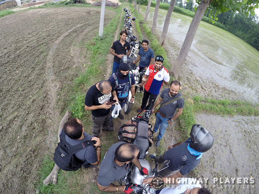 HPs photoshoot during breakfast ride