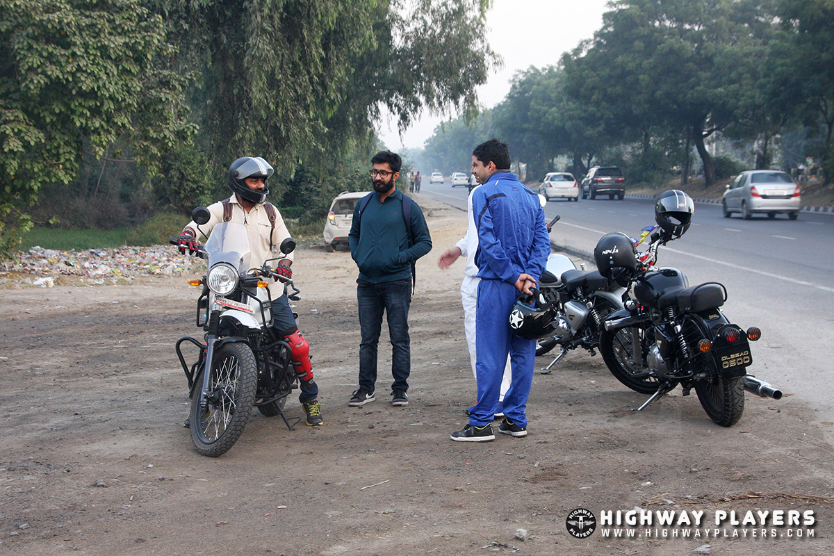 Highway Players on the way to Murthal