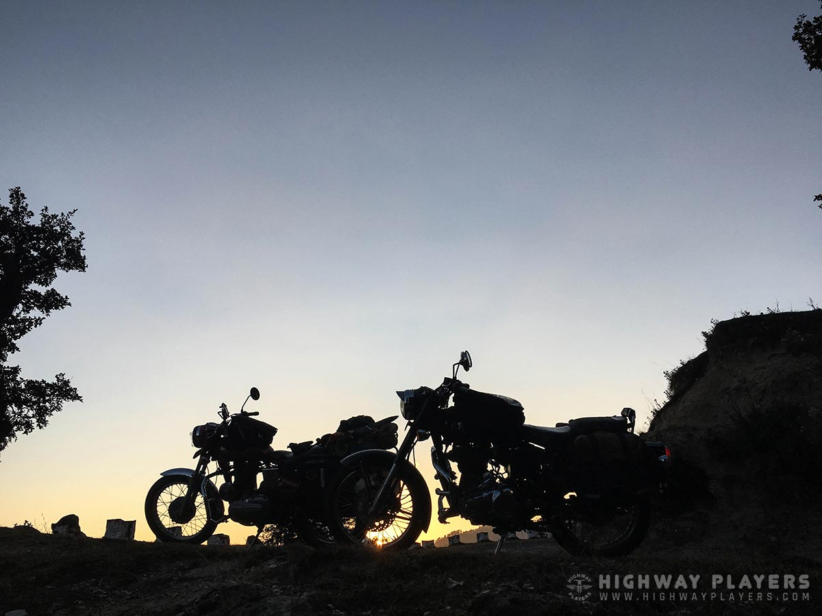 Highway Players ride to Auli-Badrinath-Chopta