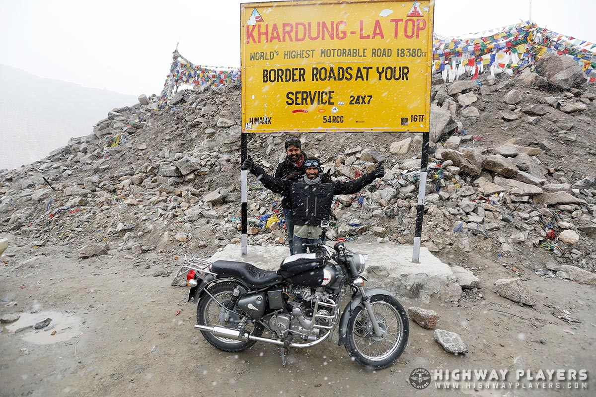 Highway Players Ladakh Ride 2013