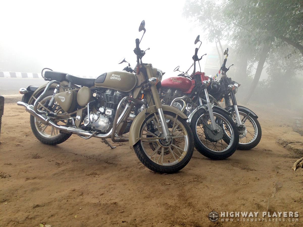 Highway Players ride to Sultanpur Bird Sanctuary