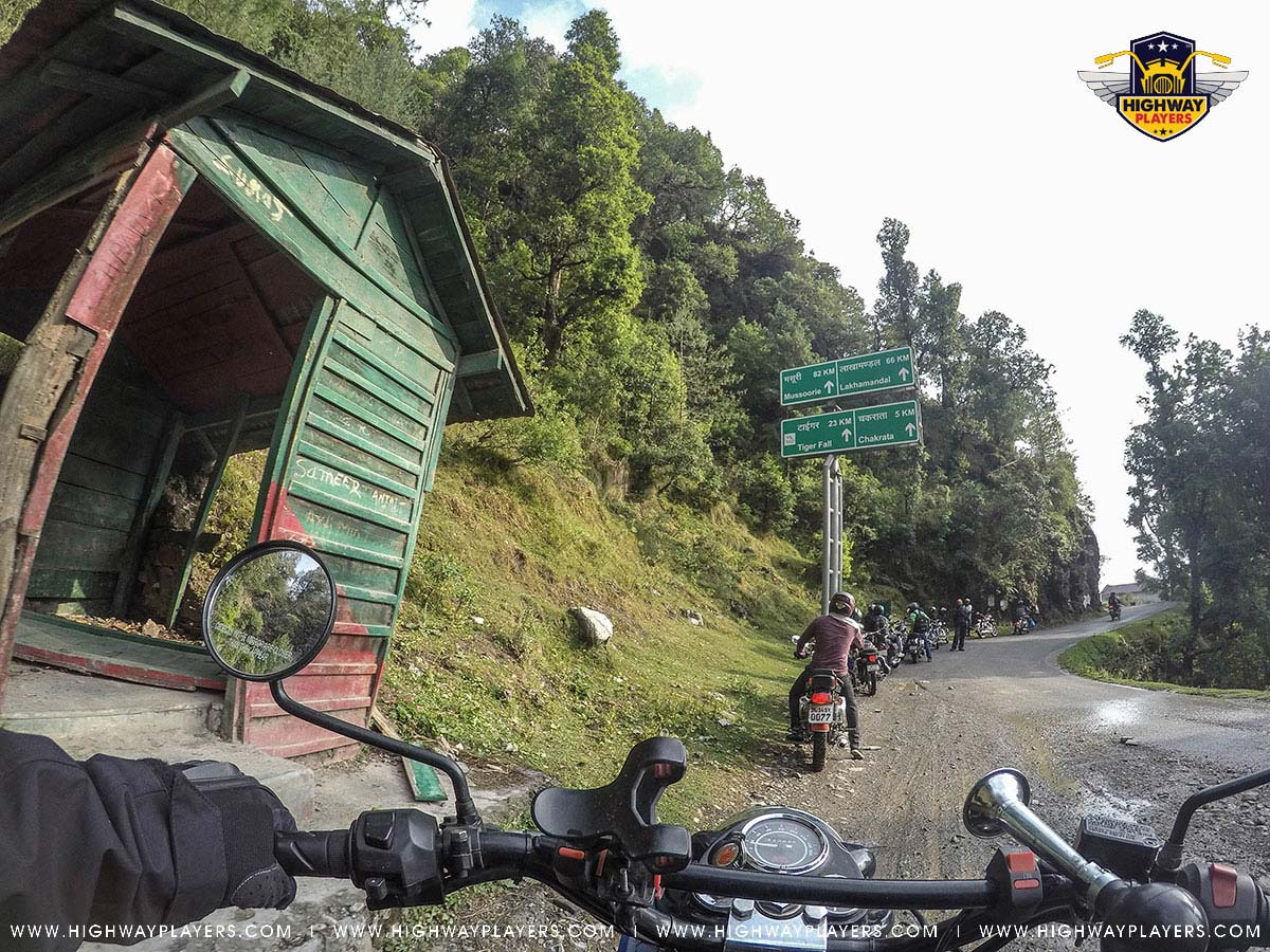 Highway Players on the way to Deoban during Ride to Chakrata