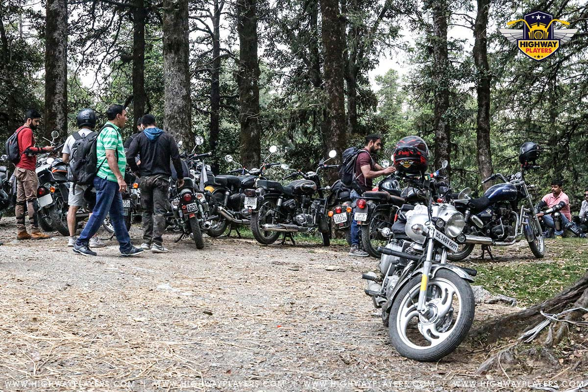 Highway Players in Deoban during Ride to Chakrata