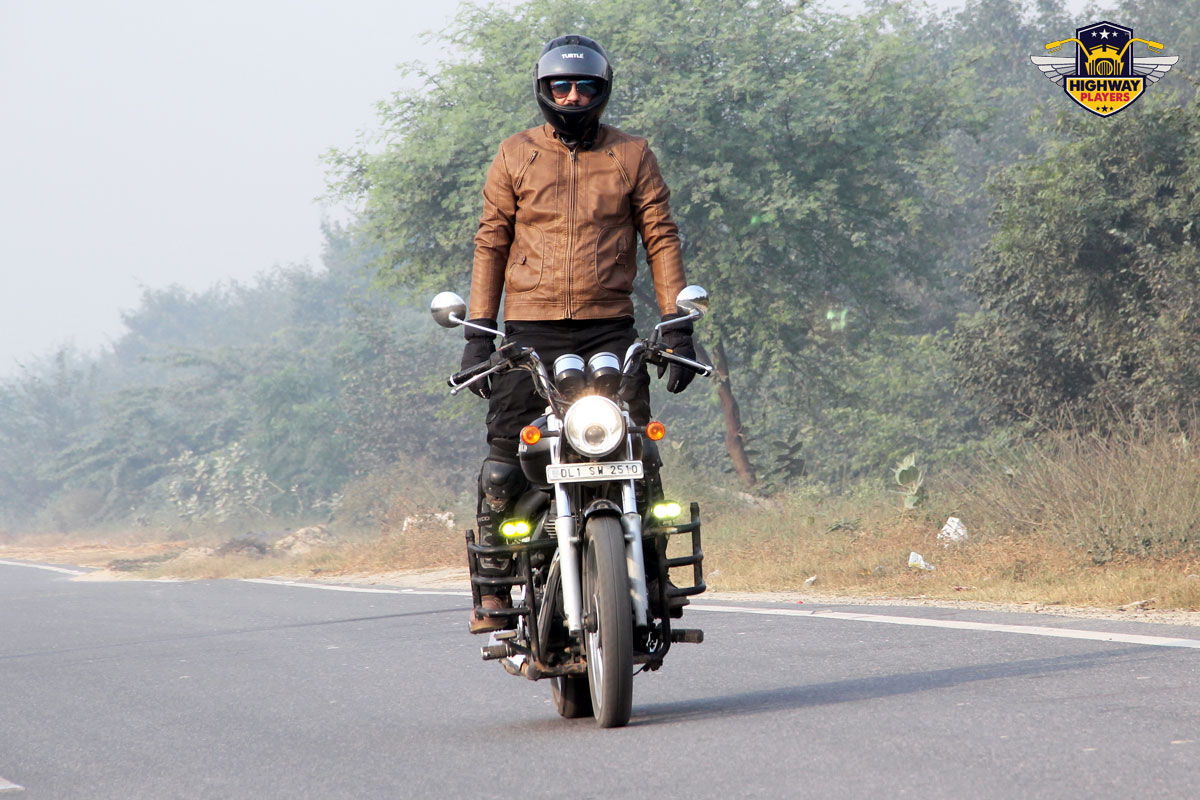 Highway Players Saurav Ahuja during the breakfast Ride to Murthal