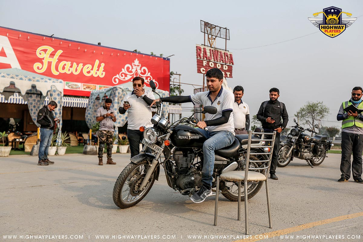 Highway Players participate in game during Ride to Rajwada